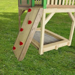 Kletterwand für Spielturm/Spielhaus