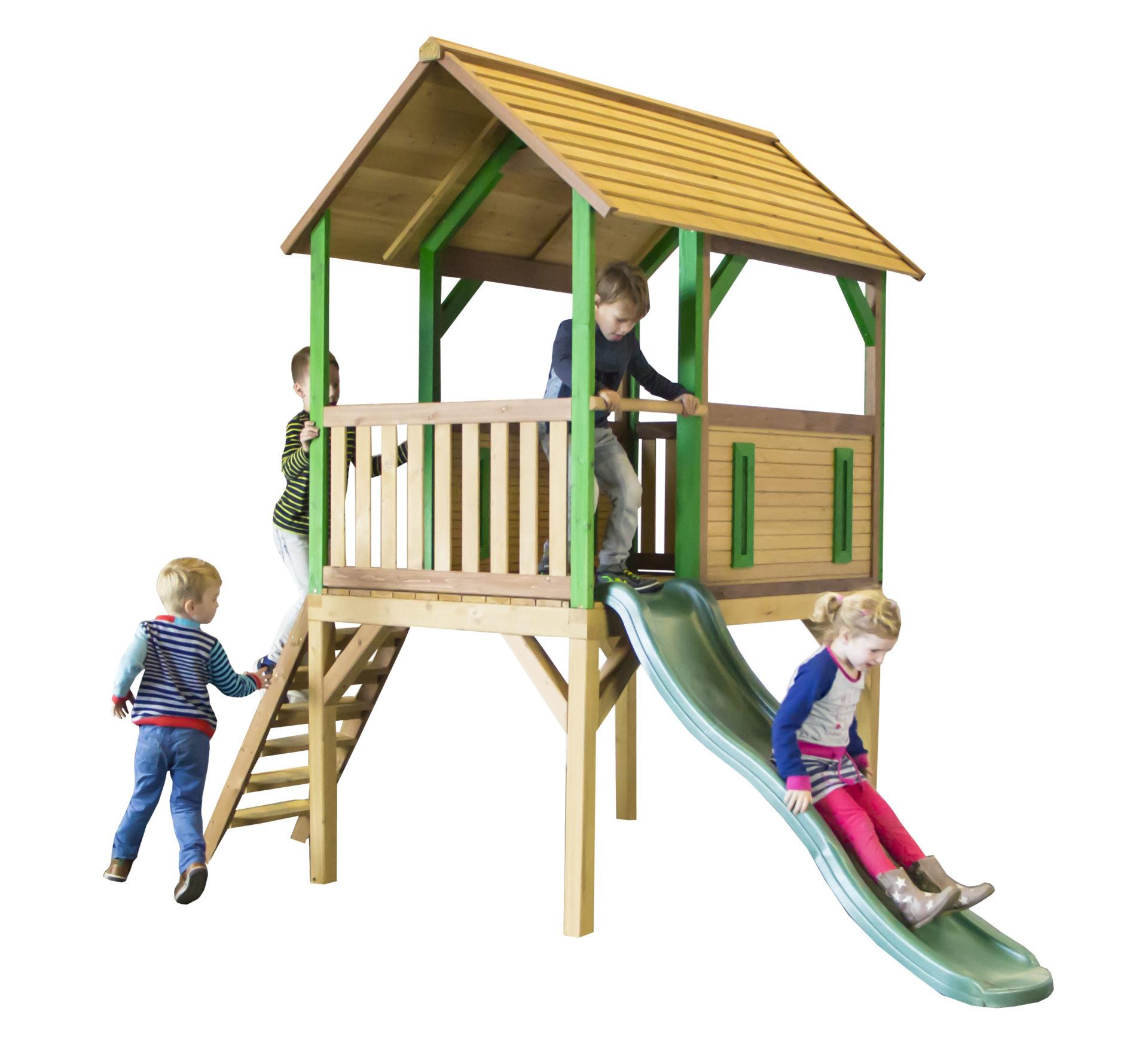 Sehr Kinderspielturm Bogo inkl. großer Rutsche - Bock-Spielgeräte VH82